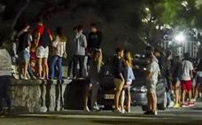 77 denuncias por botellón durante la noche del viernes en Santander
