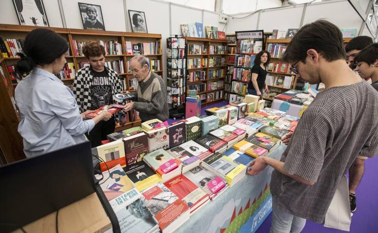 Inauguración de la Feria del Libro en Santander