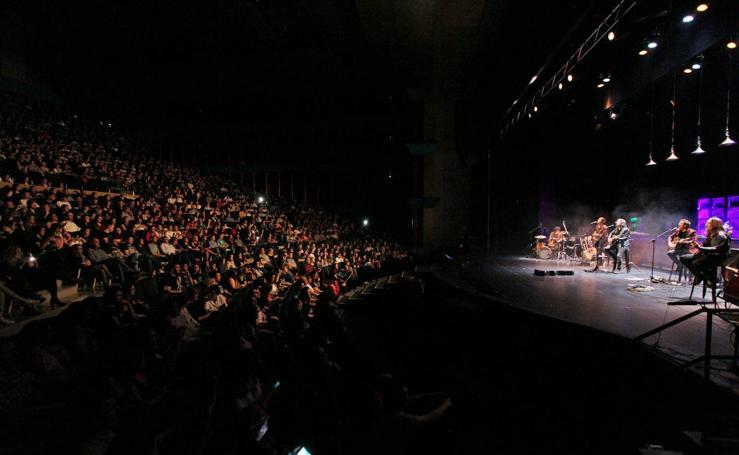Concierto de Rulo y amigos en Santander