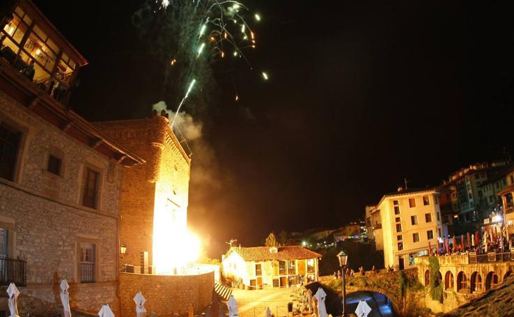 Fiesta en Potes para despedir el Año Santo Lebaniego