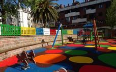 Finaliza la remodelación del parque de la Plaza de la Juventud de Suances