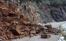Obras Públicas se compromete a buscar una solución para los argayos de Pesaguero y Cabezón de Liébana