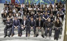La Joven Orquesta de Cantabria graba 'Cantos de Ziryab'