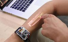 Crean un smartwatch que funciona sobre la piel