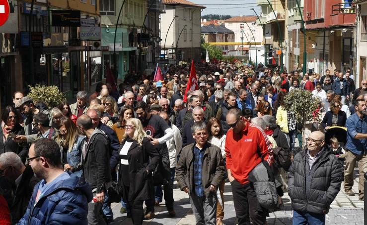 Manifestación del 1 de mayo en Torrelavega