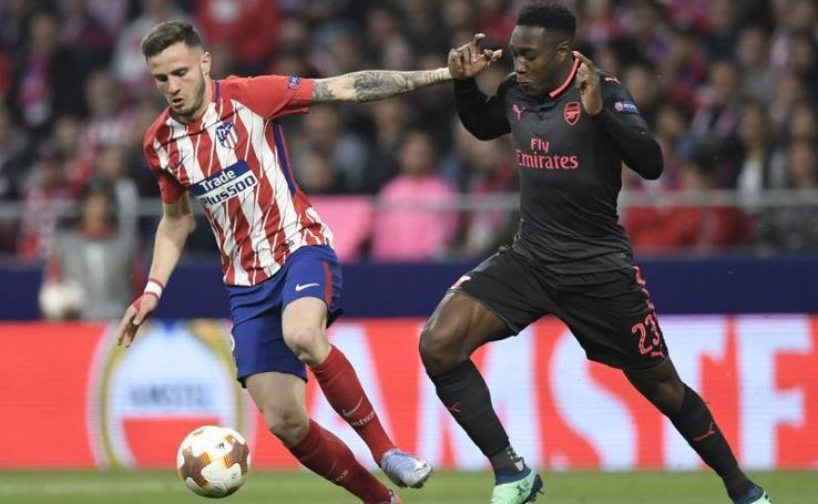 Las mejores imágenes del partido Atlético de Madrid-Arsenal