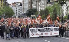 Los pensionistas convocan una nueva manifestación este sábado en Santander