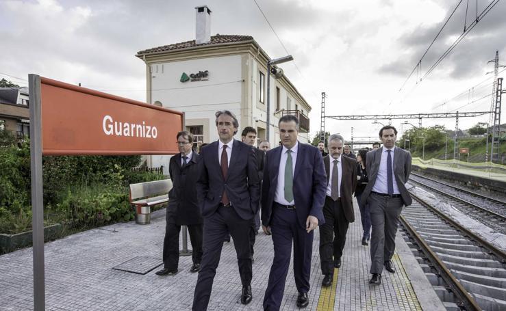 Las obras de renovación de vías en Guarnizo