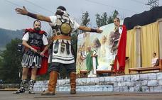 Las Guerras Cántabras regresan al parque Mazarrasa, donde comenzó todo
