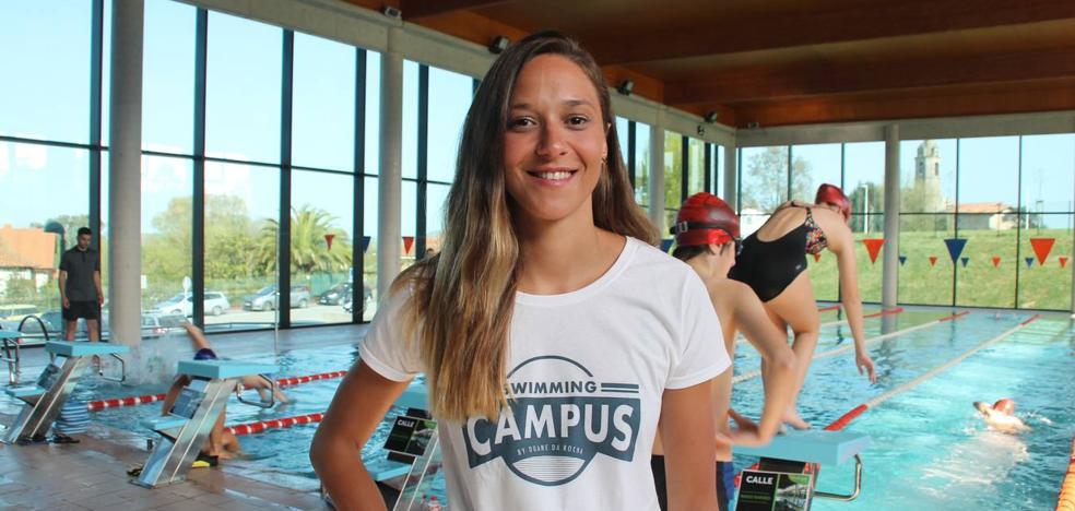 «Quiero encontrarme fuera de la natación, aunque sigo compitiendo»