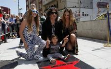 Rulo 'conquista' su estrella de la fama en Santander