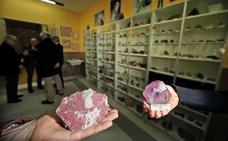 La II Feria de Minerales y Fósiles se celebra este fin de semana en la Escuela de Minas de Torrelavega