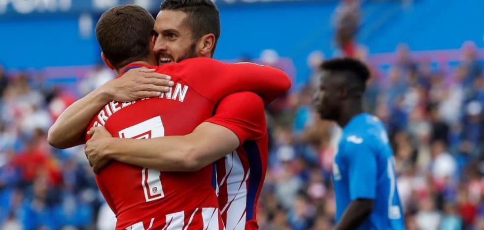 El Atlético supera el examen con riesgos