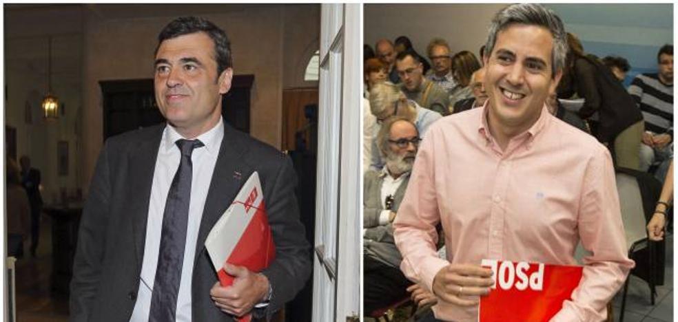 Cortés y Zuloaga presentan los avales necesarios para ser candidatos a las primarias del PSOE