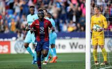 El Levante frena el récord del Barça