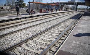 Suicidas en las vías del tren