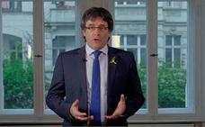 Puigdemont felicita a Torra: «Cultura y libertad, república y democracia»