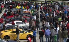 160 coches de alta gama participan en la XI edición de 'Superdeportivos Cantabria'