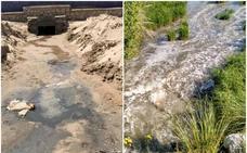 Grupos ecologistas denuncian el vertido de aguas residuales sin depurar desde Vuelta Ostrera a la ría de Suances