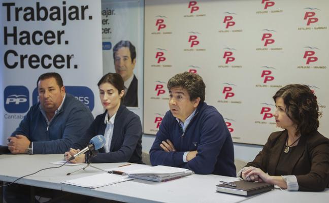 El PP de El Astillero culpa al alcalde del «caos» que sufre el Ayuntamiento