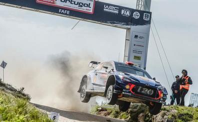 Dani Sordo busca el podio en el Rally de Portugal