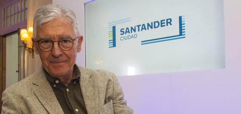 Santander es azul, blanca y verde