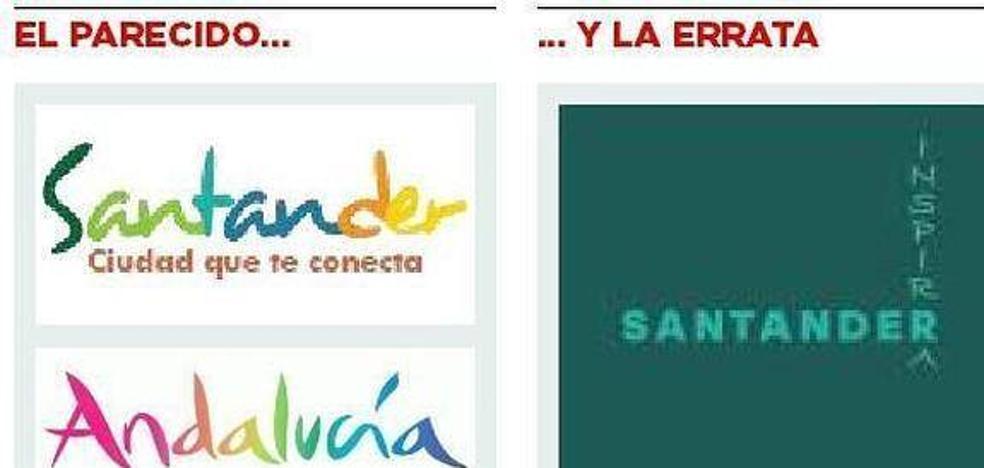 Sacudiéndose el 'Santander inspirra' y el 'ecce logo' de Cantabria