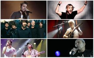 David Guetta, The Jacksons, Rubén Blades y Dani Martín, fieles a 'La Campa' de Santander