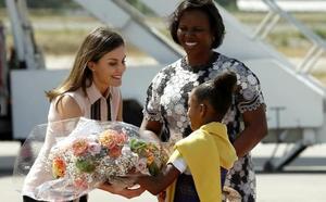 La reina Letizia inaugura la sede de la cooperación española en Haití