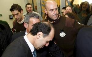 Absueltos los seis acusados del escrache a Ignacio Diego