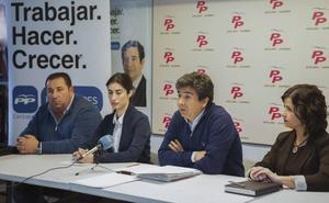 El PP recuerda a Ortiz que con cinco ediles «no puede imponer» su voluntad