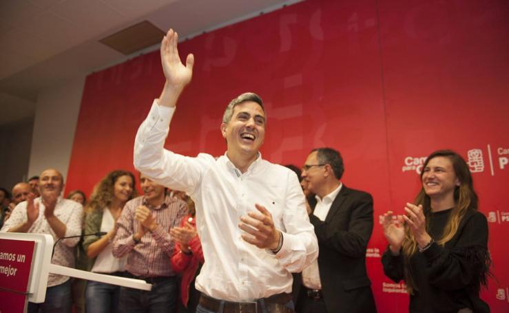 Zuloaga vence en las primarias del PSOE en Cantabria