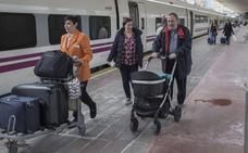 Programados cortes de la circulación ferroviaria por obras de mejora en la estación de Santander