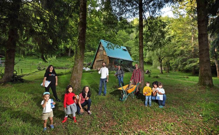 La cabaña de los sueños en el bosque de Ucieda