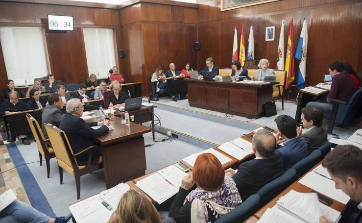 Pleno en Santander