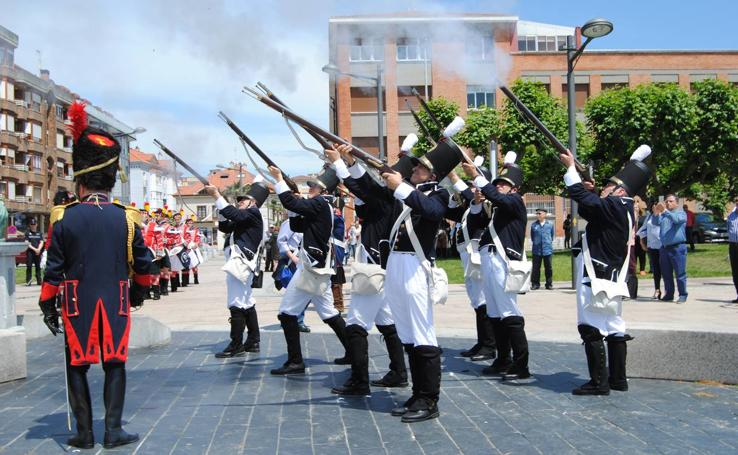 Fiesta napoleónica en Santoña