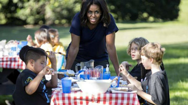 Michelle Obama será juez de Masterchef Junior