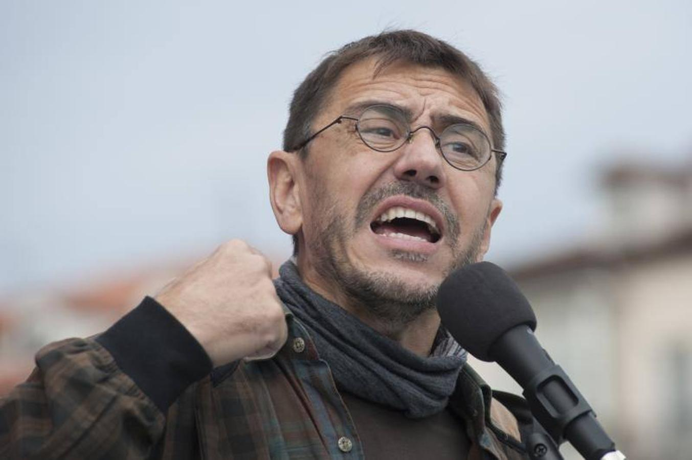 Monedero ha estado este domingo en Santander