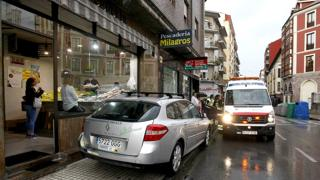 Accidente en Torrelavega