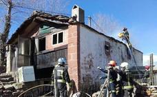 Extinguido un incendio en una cabaña de San Pedro del Romeral