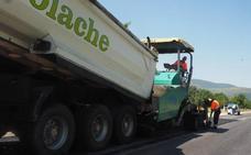 Comienza la mejora de la carretera entre Nestares y el cruce de Villar