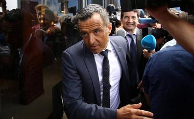 Jorge Mendes declara durante una hora y media por el 'caso Falcao'