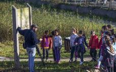 Astillero se une al proyecto Libera para la retirada de residuos en las Marismas