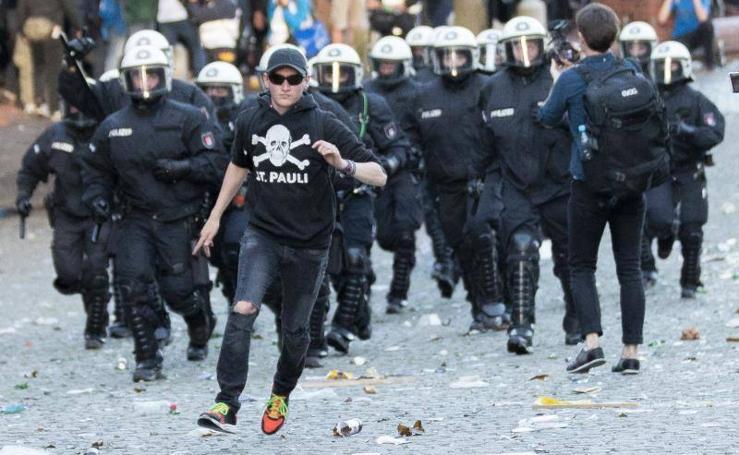 Disturbios en Hamburgo antes de la cumbre del G-20