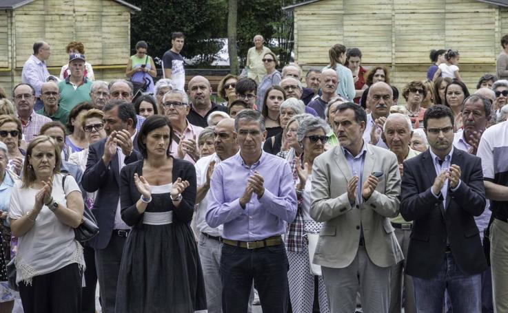 Concentración en Santander en recuerdo a Miguel Ángel Blanco