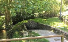 Liaño recuperará el entorno de la popular fuente de Santa Ana