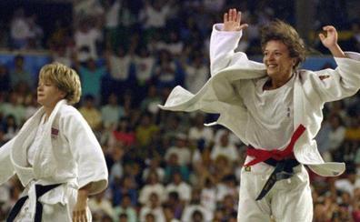 Miriam Blasco se casó con su rival en la final de judo