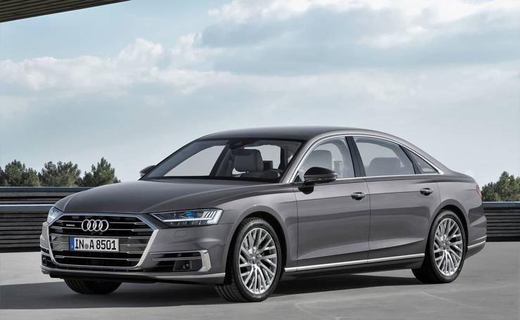 Audi A8, imágenes del modelo cumbre de la gama