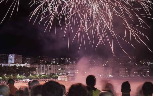 Esta Noche Fuegos Artificiales Frente Al Centro Botin El Diario