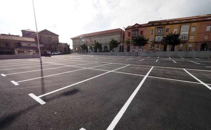 Un nuevo aparcamiento en la calle Alta